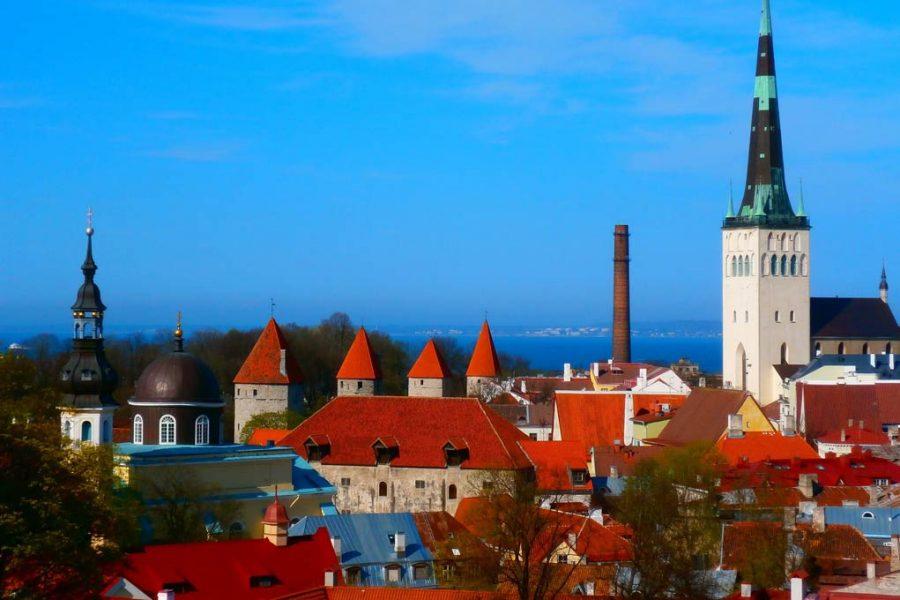 Tallinn huvudstaden i Estland - utmärkt för att förlägga kundtjänst